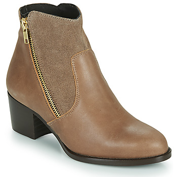 Shoes Women Ankle boots So Size FELICIO Camel