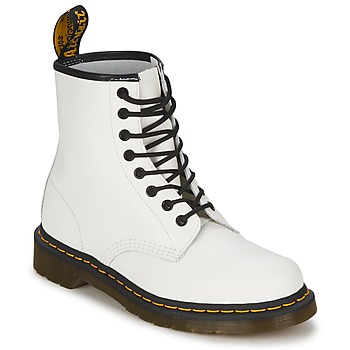 Shoes Mid boots Dr Martens 1460 White