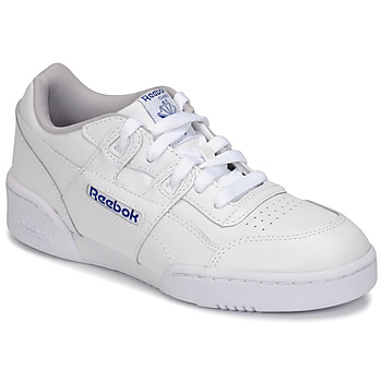 Shoes Children Low top trainers Reebok Classic WORKOUT PLUS White