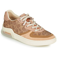 Shoes Women Low top trainers Coach CITYSOLE Cognac / Beige / Nude