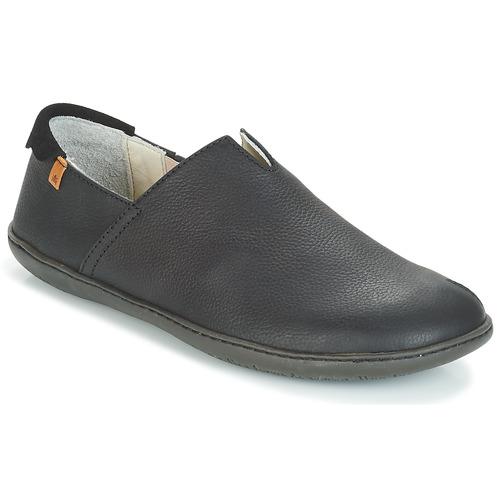 Shoes Men Slip ons El Naturalista EL VIAJERO Black
