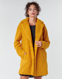 material Women coats Noisy May NMGABI Mustard