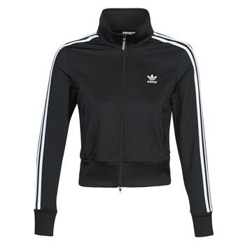 material Women Jackets adidas Originals FIREBIRD TT Black