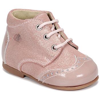 Shoes Girl Mid boots Citrouille et Compagnie NONUP Pink