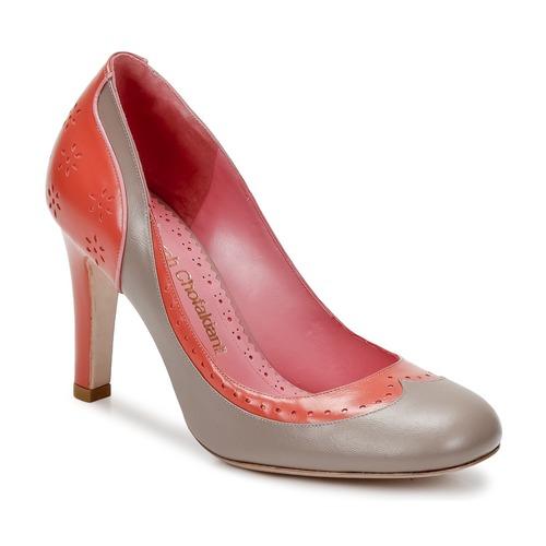 Shoes Women Court shoes Sarah Chofakian LAUTREC Clay / Salmon