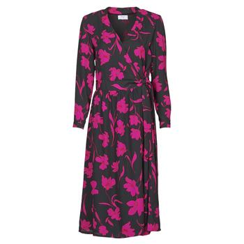 material Women Long Dresses Betty London NOLIE Black / Pink