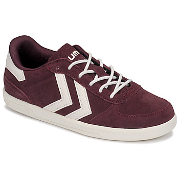 Shoes Children Low top trainers Hummel VICTORY JR Bordeaux