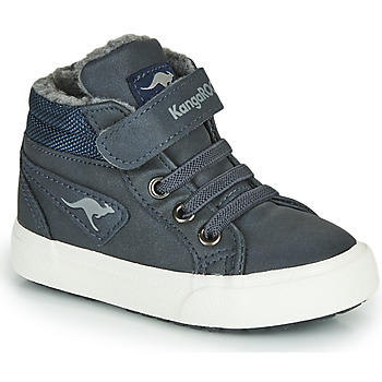 Shoes Boy High top trainers Kangaroos KAVU I Blue
