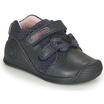 Shoes Girl Low top trainers Biomecanics BOTIN LAZO Marine