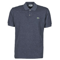 material Men short-sleeved polo shirts Lacoste POLO L12 12 CLASSIQUE Blue