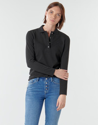 material Women long-sleeved polo shirts Lacoste PF5464 Black