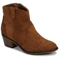 Shoes Women Mid boots Moony Mood NINITE Camel