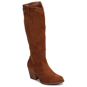 Shoes Women Boots Moony Mood NOEMA Camel