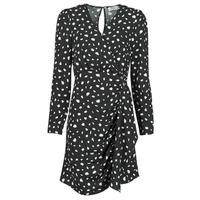 material Women Short Dresses Betty London NOELINE Black / White
