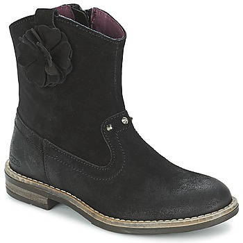 Shoes Girl Mid boots Mod'8 NOLA Black