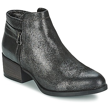 Shoes Women Ankle boots Mjus KAKANJ Black / Silver