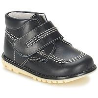 Shoes Boy Mid boots Citrouille et Compagnie MELIN MARINE