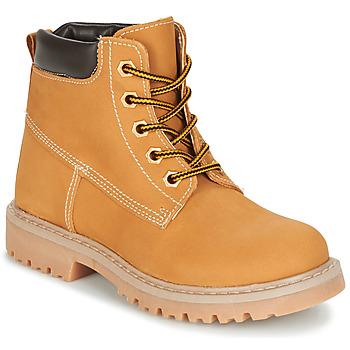 Shoes Children Mid boots Citrouille et Compagnie SITELLE BEIGE