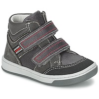Shoes Boy High top trainers Citrouille et Compagnie MONI Grey