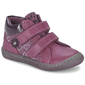 Shoes Girl Mid boots Citrouille et Compagnie GALIS Pink