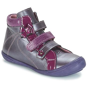 Shoes Girl High top trainers Citrouille et Compagnie FALIE Violet