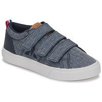 Shoes Children Low top trainers Le Coq Sportif VERDON INF Blue