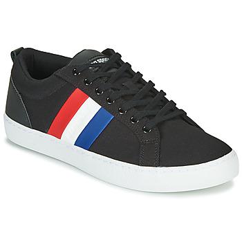 Shoes Men Low top trainers Le Coq Sportif VERDON CLASSIC FLAG Black