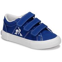 Shoes Children Low top trainers Le Coq Sportif VERDON PLUS Blue