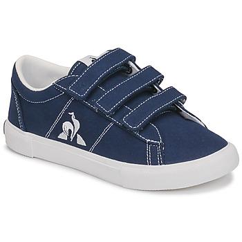 Shoes Children Low top trainers Le Coq Sportif VERDON PLUS PS Blue