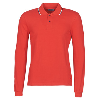 material Men long-sleeved polo shirts Casual Attitude NILE Red
