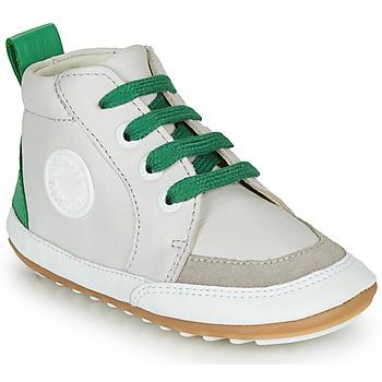 Shoes Children Mid boots Robeez MIGO Beige / Green
