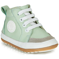 Shoes Children Mid boots Robeez MIGO Green / Water