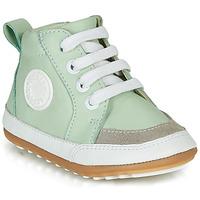 Shoes Children Mid boots Robeez MIGO Green / Water