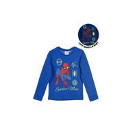 material Boy Long sleeved shirts TEAM HEROES  SPIDERMAN Blue