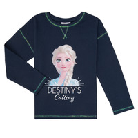material Girl Long sleeved shirts TEAM HEROES FROZEN Marine