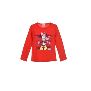 material Girl Long sleeved shirts TEAM HEROES MINNIE Red