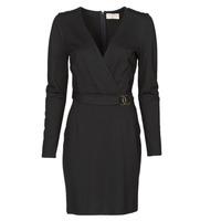 material Women Short Dresses Moony Mood NAMITIE Black