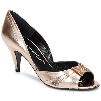 Shoes Women Court shoes Karine Arabian MONTEREY Pink / Metallic