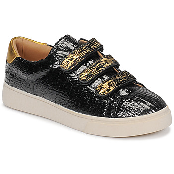 Shoes Women Low top trainers Vanessa Wu  Black