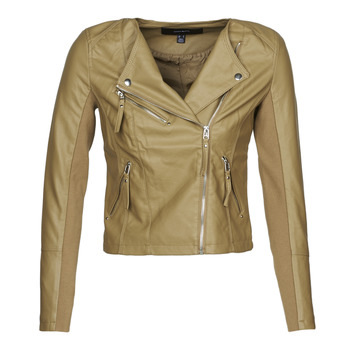 material Women Leather jackets / Imitation le Vero Moda VMRIAFAVO Beige