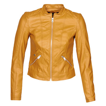 material Women Leather jackets / Imitation le Vero Moda VMKHLOE Mustard
