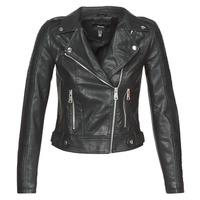 material Women Leather jackets / Imitation le Vero Moda VMKERRIULTRA Black