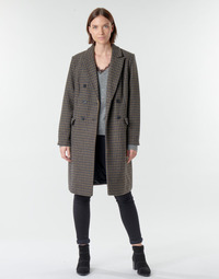 material Women coats Vero Moda VMHAFIA Brown
