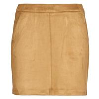 material Women Skirts Vero Moda VMDONNADINA Cognac
