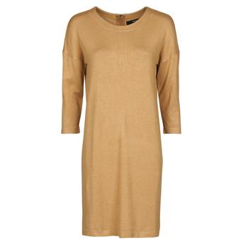 material Women Short Dresses Vero Moda VMGLORY Camel