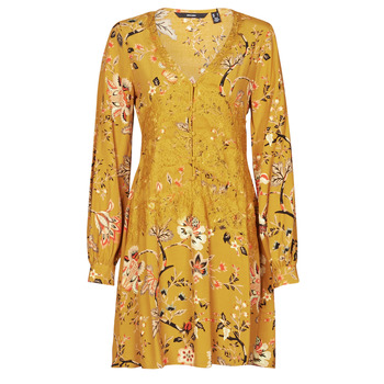 material Women Short Dresses Vero Moda VMCLAYTON Yellow
