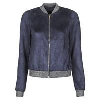 material Women Leather jackets / Imitation le Vero Moda VMSUMMERELISA Marine