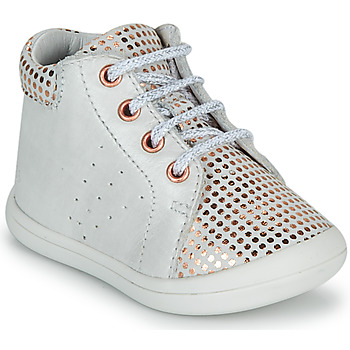 Shoes Girl High top trainers GBB NAHIA White
