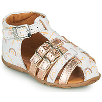 Shoes Girl Sandals GBB RIVIERA White