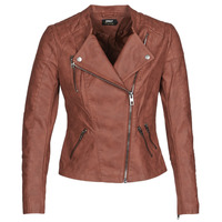 material Women Leather jackets / Imitation le Only ONLAVA Bordeaux